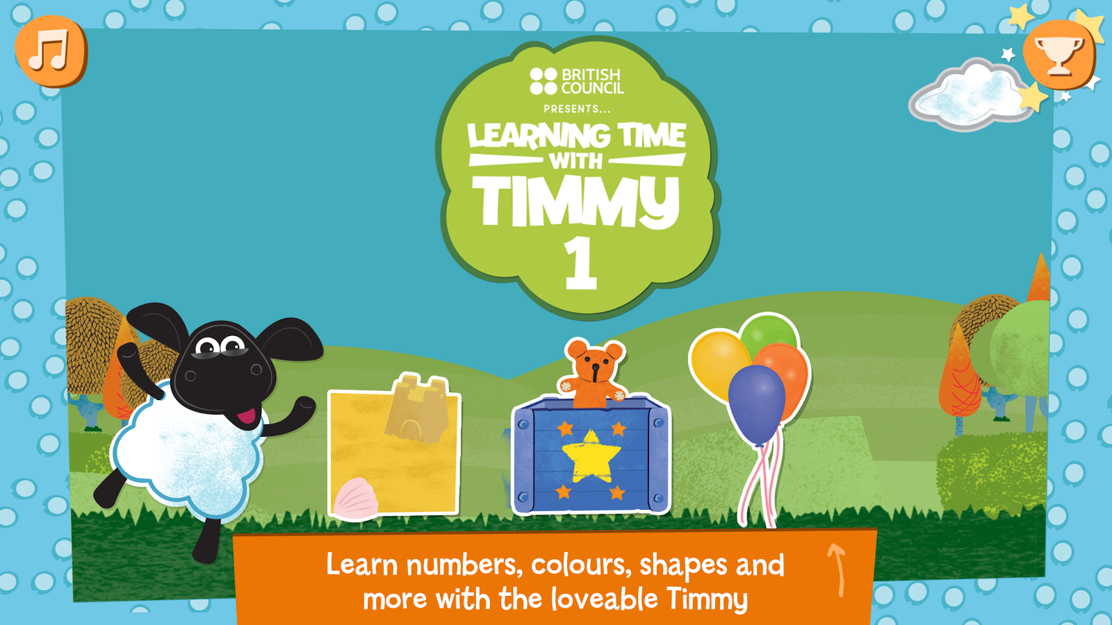 Learning Time With Timmy 1 Screenshot 0