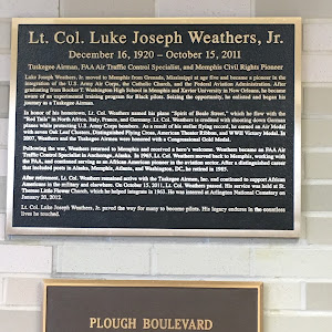 Lt. Col. Luke Joseph Weathers, Jr. December 16, 1920 – October 15, 2011 Tuskegee Airman, FAA Air Traffic Control Specialist, and Memphis Civil Rights Pioneer   Luke Joseph Weathers, Jr. moved to ...
