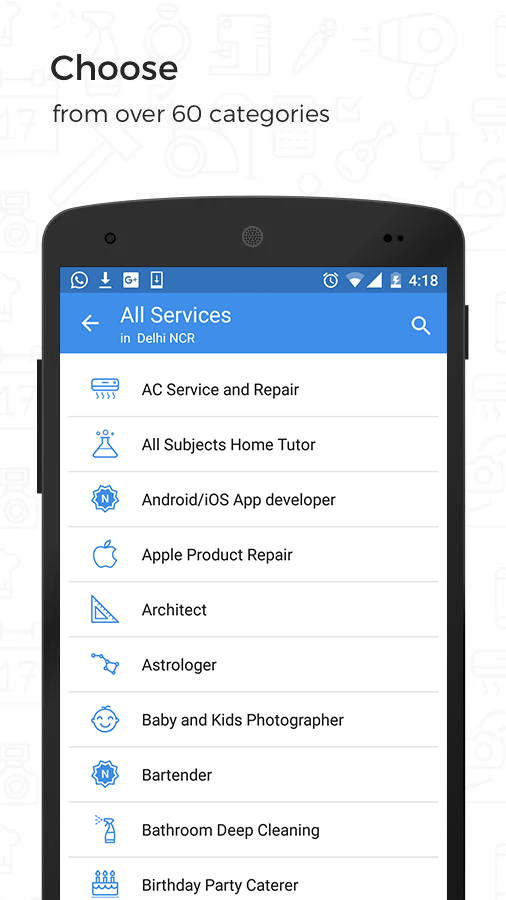 UrbanClap: Home,Local Services Screenshot 1