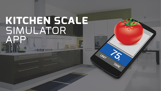 Download kitchen scale simulator fun apk to pc download for Kitchen scale with app