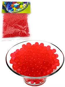 Светящиеся гидрогелевые шарики S, красные