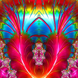 V Shape by Capucino Julio - Illustration Abstract & Patterns ( abstract, v letter, colorful, shape, fractal )