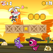 Super Run Jump Boyo World APK for Bluestacks