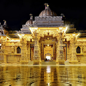 Swami Narayan Temple by Sarath Sankar - Buildings & Architecture Places of Worship (  )