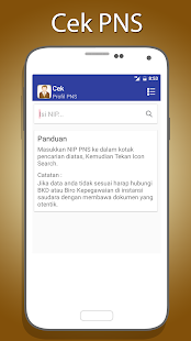App Cek Profil PNS apk for kindle fire