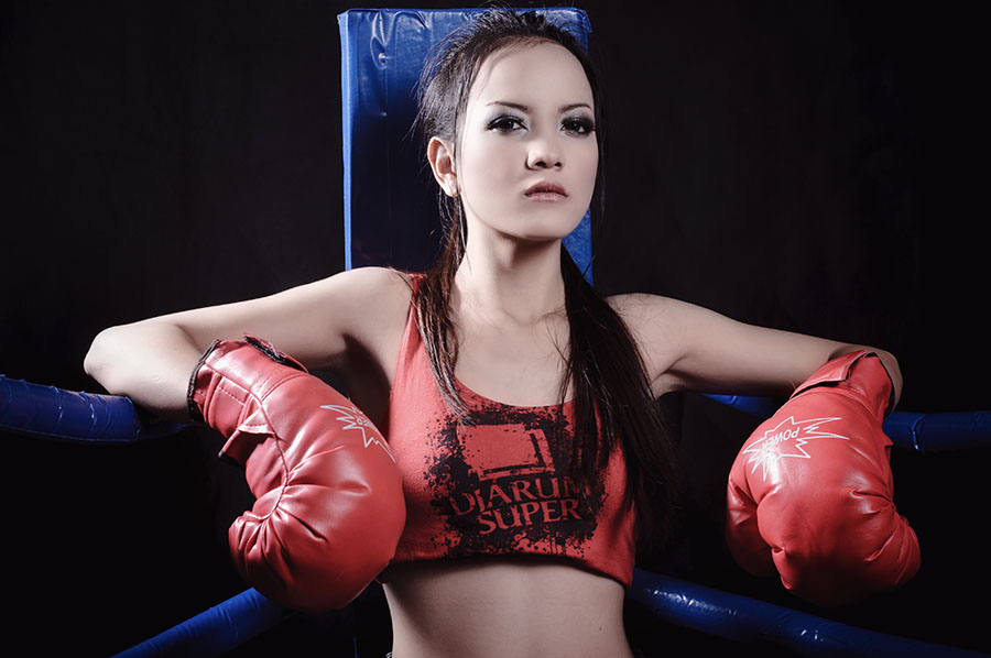 Ready for Round 2 by Arindra Arindra - Sports & Fitness Boxing ( model, sport, boxing )