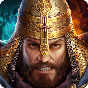 The latest war games strategy, the heroes of the legendary battles of epic, design Arabic APK Icon