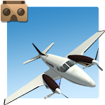 VR Flight: Airplane Pilot Simulator (Cardboard) Icon