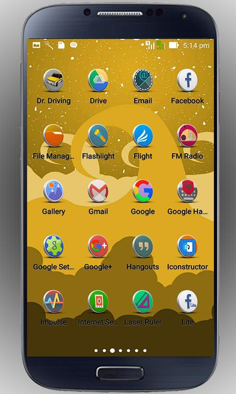 3D-3D - icon pack Screenshot 2