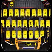 Download racer car keyboard yellow hot APK to PC