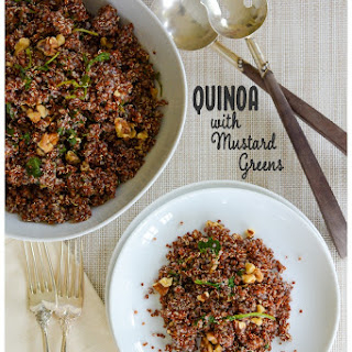 Mustard Greens Quinoa Recipes