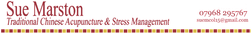 Sue Marston Traditional Chinese Acupuncture and Stress Management Kidderminster Worcestershire
