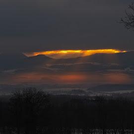 Holy trinity by Bencik Juraj - Landscapes Weather ( clouds, light trails, sunlight, landscape )