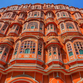 HawaMahal,Jaipur,Rajasthan,India by Amrita Bhattacharyya - Buildings & Architecture Architectural Detail (  )