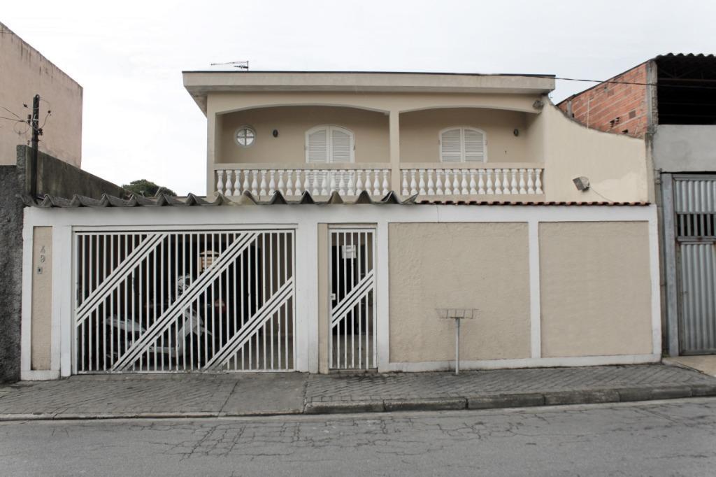Casa residencial à venda, Jardim Sílvia Maria, Mauá.