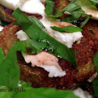 Panko & Parmesan Crusted Fried Green Tomatoes