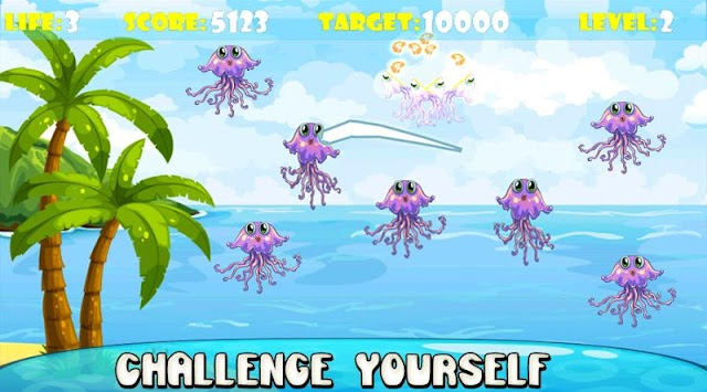 Ninja Fish – Fishing Cut, Fish Cutting Games APK screenshot thumbnail 3