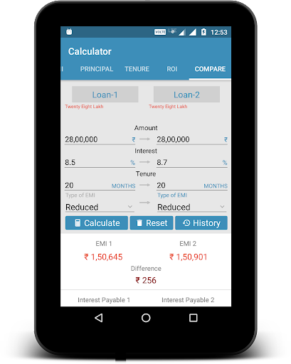 EMI Calculator screenshot 12