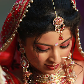 by Bharat Dudeja - Wedding Bride ( hindu, indian, jewelry, marriage, bride,  )