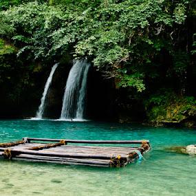 Badian Falls by Jeff Ponce - Landscapes Travel