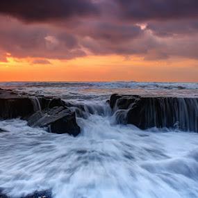 emotional wave by I Gusti Putu Purnama Jaya - Landscapes Sunsets & Sunrises