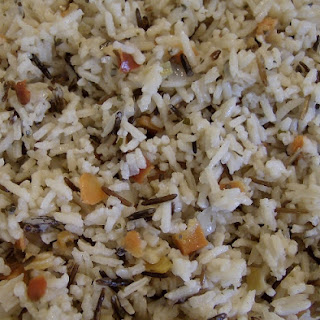 Basmati Rice with Onion and Garlic