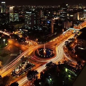 Somewhere in the night by Taufiqurakhman Ab - City,  Street & Park  Street Scenes