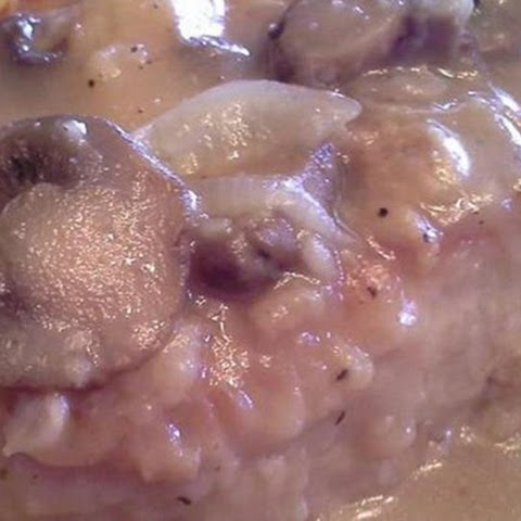 Pork Chops Smothered in Onion Gravy