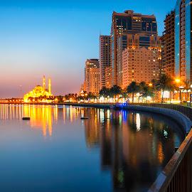 Al Madjaz Park Corniche by Ricky Pagador - City,  Street & Park  City Parks ( park, street, city )