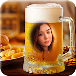 Beer Glass Photo Frame Icon