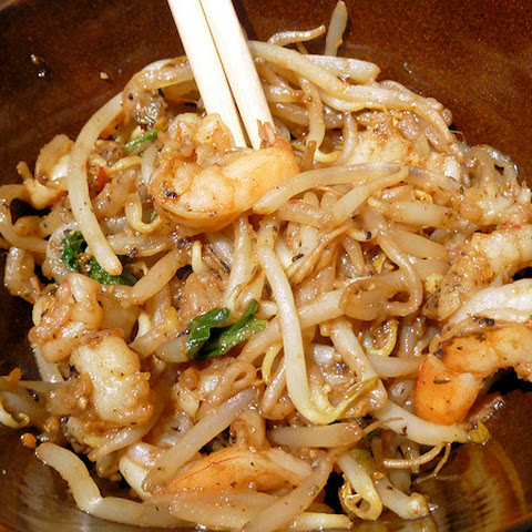"Shrimp and ""Noodles"" (Bean Sprout) Stir fry"