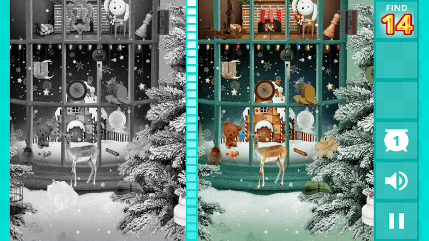 android Hidden Difference - Xmas Wish Screenshot 4