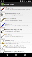 Screenshot of Fishing Knots