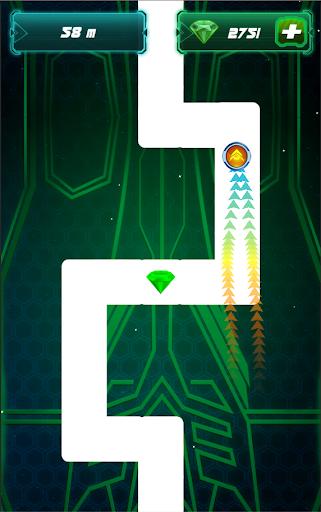 Follow the Line 2: Glow Style - screenshot