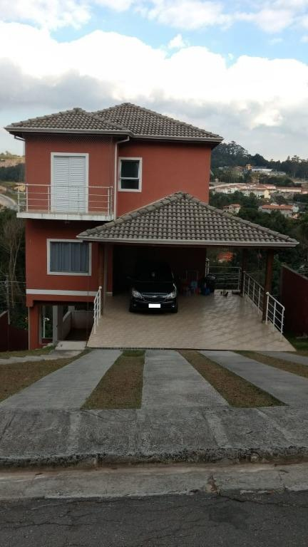Linda casa com 3 suites, varanda, em condominio fechado, 6 vagas, Cotia, Prox. Jandira e Barueri