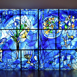 American Windows by Gary Ambessi - Artistic Objects Glass