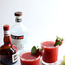 Strawberry Mint Margarita