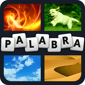 Four photos with one word in common - what is it? APK Icon