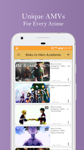 App AMVs - Anime Music Video APK for Kindle