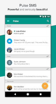 Pulse SMS (Phone/Tablet/Web) APK screenshot thumbnail 1
