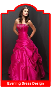 Evening Dress Design Ideas - screenshot