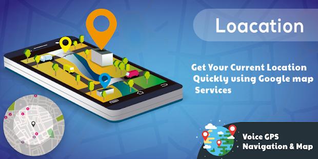 Voice GPS Navigation & Map APK for Bluestacks