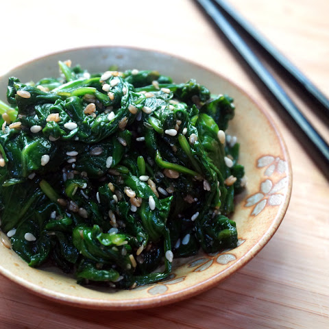Spinach with Sesame Sauce – Hourensou no Goma Ae