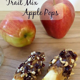 Trail Mix Apple Snacks