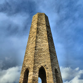 The Daymark by Steven Underhill - Buildings & Architecture Statues & Monuments ( daymark, kingswear, tower, navigation, sea, brixham,  )