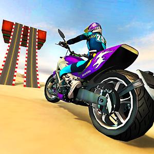 Beach Motorbike Stunts Master 2019 For PC / Windows 7/8/10 / Mac – Free Download
