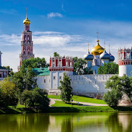 Convent in Moscow by Pravine Chester - City,  Street & Park  Historic Districts ( places, historic, city, moscow, convent )