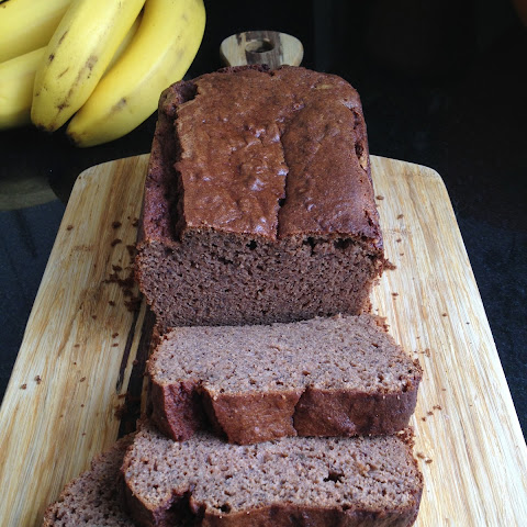 Banana Coconut-Flour Spice Bread (or Cake), Nut Free