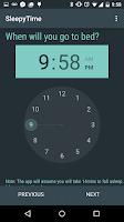 Screenshot of SleepyTime: Bedtime Calculator