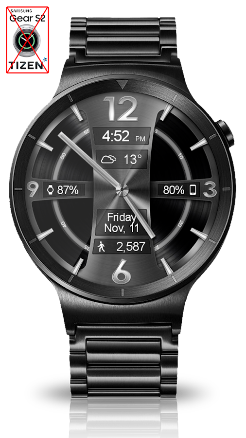 Avionic Depth HD Watch Face Screenshot 9